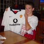 PROUD OWNER OF A MANCHESTER UNITED JERSEY