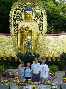 A VISIT TO A BUDDHIST TEMPLE