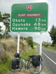 CYCLING THE SURF HIGHWAY