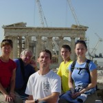 FAMILY AT THE PARTHENON