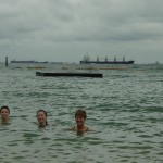 SWIMMING IN THE SOUTH CHINA SEA