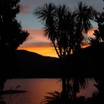 SUNSET AT LAKE PARINGA