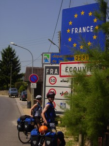 CROSSING INTO FRANCE